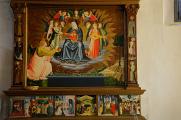 Montefalco - San Fortunato - interiér I