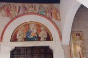 Montefalco - San Fortunato - portál