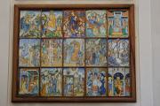 Deruta - San Arcangelo - keramický oltářní obraz