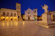Norcia - Piazza San Benedetto II