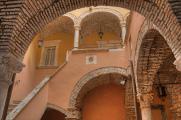 Ascoli Piceno - schodiště domu