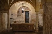 Spoleto - krypta kostela Sant'Ansano
