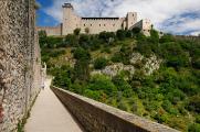 Spoleto - Rocca Albornoziana a Ponte delle Torri