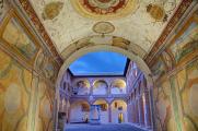 Spoleto - Rocca Albornoziana - Museo - fresky I