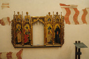 Spoleto - Rocca Albornoziana - Museo - oltář z opatství S.Eutizio
