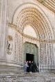 Todi - San Fortunato - portál