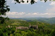 Umbrie -  krajina v okolí Caselle