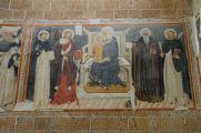 Orvieto - Sant'Andrea - freska