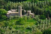 Orvieto - pohled do krajiny na San Severo