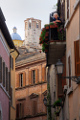 Amélia - ulička - Duomo a věž