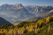 údolí Agordo a Monte Agner