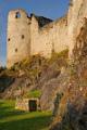 hradní opevnění - východní část