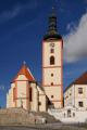 Veselí nad Lužnicí - kostel Povýšení sv. Kříže I