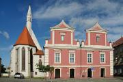 Soběslav - kostel sv. Víta a Stará radnice