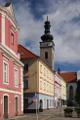 Soběslav - kostel sv. Petra a Pavla a Stará radnice