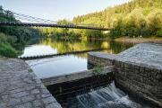 Stádlecký řetězový most I
