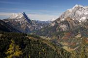 údolí Johnsbachu a Admonter Reichenstein