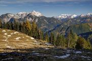 Eisenerzské Alpy od Haselkar