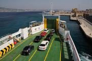na trajektu Villa San Giovanni - Messina