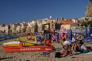 Cefalu - pláž I
