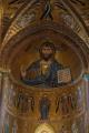 Cefalu - katedrála - mozaika Krista