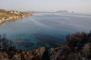 Monte Pelegrino a Golfo di Palermo