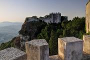 Erice - výhled z Castello di Venere II