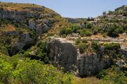 Necropoli di Pantalica - údolí Calcinara