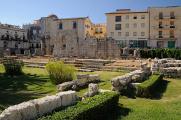 Syrakusy - torzo Tempio di Apollo