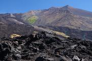 Etna - jižní svahy od Rifugio Sapienza II