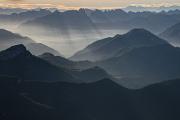 pohled do Valle del Boite