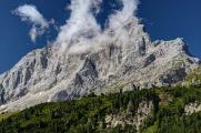 Monte Civetta od Cassera Staulanza