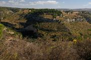 Monti Iblei - vápencový kaňon