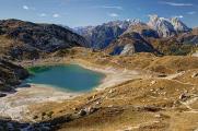 Lago di Coldai a Marmolada