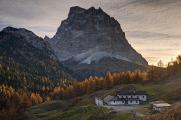 Malga Vescova a Monte Pelmo