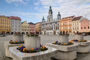 Přemysl Otakar II. Stadtplatz mit Rathaus I