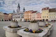 Přemysl Otakar II. Stadtplatz mit Rathaus II