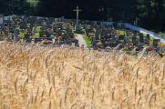 hřbitov poblíž Moorbad Harbachu