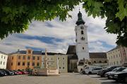 Freistadt - náměstí s kostelem III