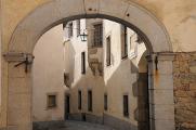 Freistadt - hradební ulička VII