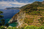 Parco delle Cinque Terre - pobřežní krajina