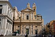 Genova - Chiesa del Gesù e dei Santi Ambrogio e Andrea III