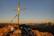 Zeiritzkampel - vrcholový kříž I