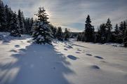 zimní Horská Kvilda