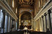 Santa Maria in Trastevere - interiér