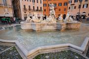 Piazza Navona - Fontana del Nettuno I