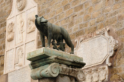 Palazzo Senatorio - detail