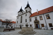 Wallenstein Castle and basilica of St. Prokop