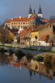 bazilika sv. Prokopa a židovská čtvrť nad řekou Jihlavou IV