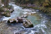řeka Steyer pod Hinterstoderem